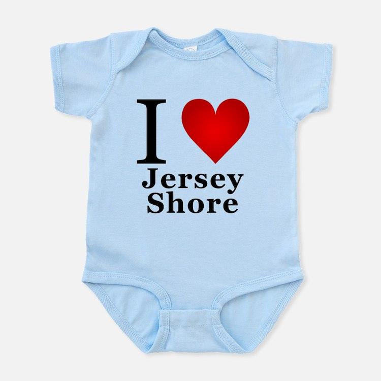 I Love Jersey Shore Infant Bodysuit