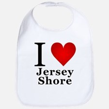 I Love Jersey Shore Bib