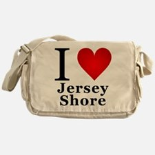 I Love Jersey Shore Messenger Bag