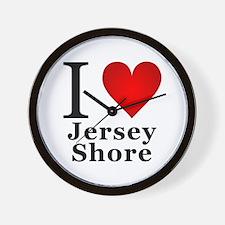 I Love Jersey Shore Wall Clock
