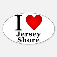 I Love Jersey Shore Decal