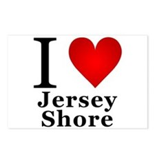 I Love Jersey Shore Postcards (Package of 8)