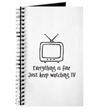 Everything is Fine Watch TV Journal