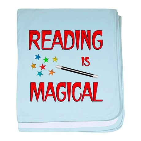 Reading is Magical baby blanket