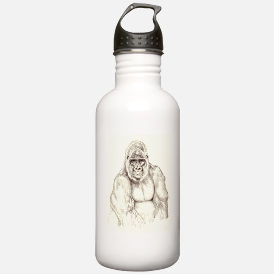 Kumba sketch Water Bottle