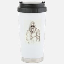 Kumba sketch Stainless Steel Travel Mug
