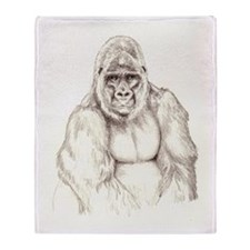 Kumba sketch Throw Blanket