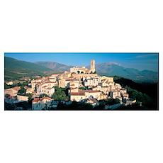 Town, Goriano Sicoli, L'Aquila Province, Abruzzo,  Poster