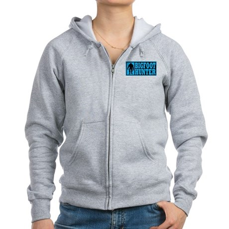 Finding Bigfoot - Hunter Women's Zip Hoodie