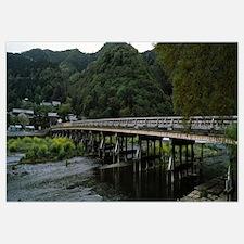 Togetsukyo Bridge, the Hozu and Katsura rivers, Ar
