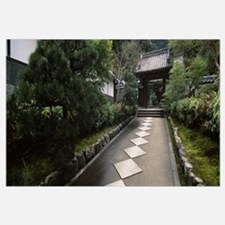 Footpath leading towards a temple, Nanzenji Temple