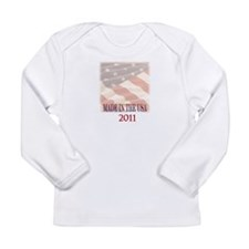 Made In USA 2011 Long Sleeve Infant T-Shirt