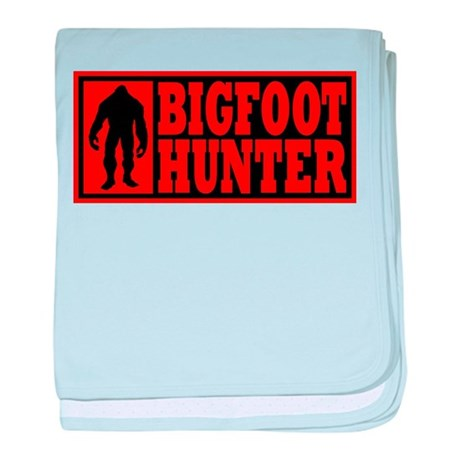 Finding Bigfoot - Hunter baby blanket