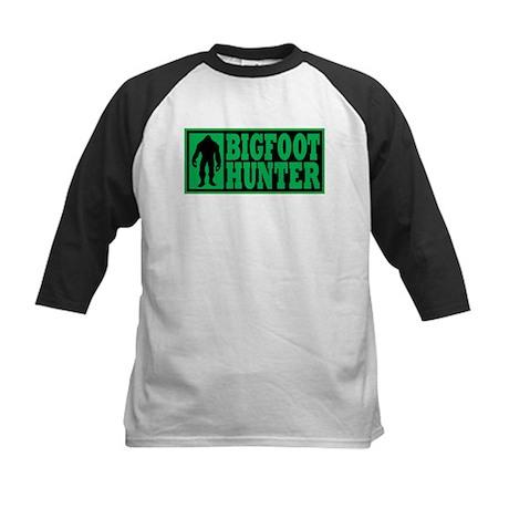 Finding Bigfoot - Hunter Kids Baseball Jersey