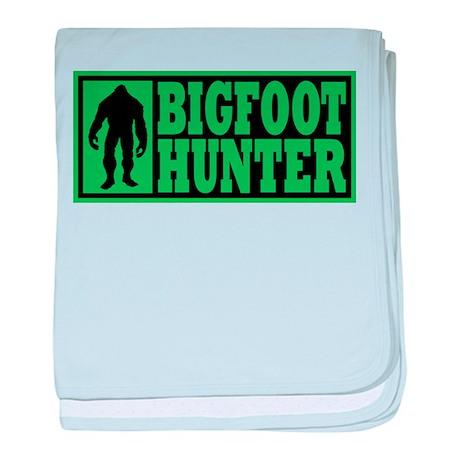Finding Bigfoot - Hunter baby blanket