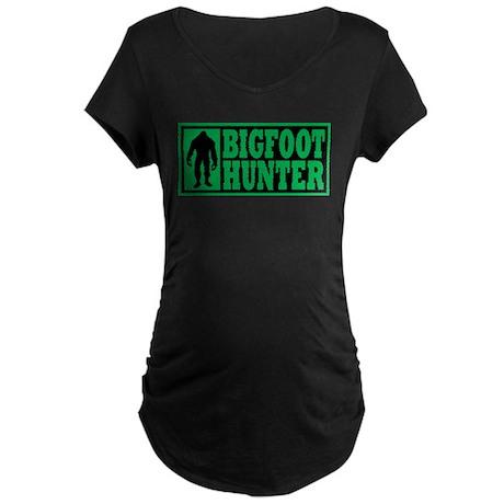 Finding Bigfoot - Hunter Maternity Dark T-Shirt