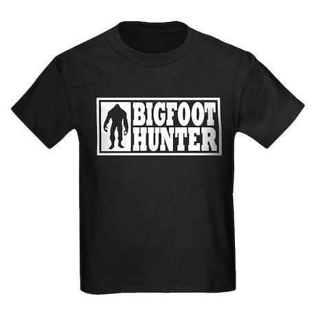 Finding Bigfoot - Hunter Kids Dark T-Shirt