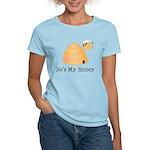 He's My Honey Couples Women's Light T-Shirt