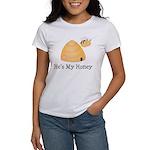 He's My Honey Couples Women's T-Shirt