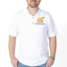 He's My Honey Couples T-Shirt