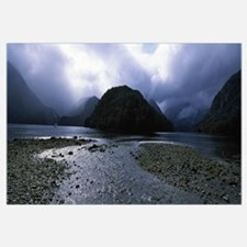 Fjords in Doubtful Sound, South Island, New Zealan