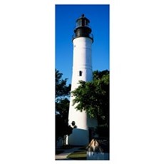 Lighthouse, Key West, Florida Framed Print