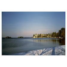 Resort at the lakeside, Lake Muskoka, Ontario, Can