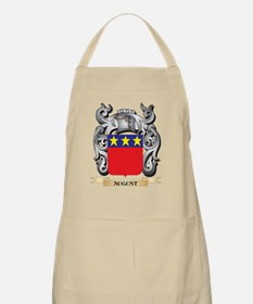 August Family Crest - August Coat of A Light Apron