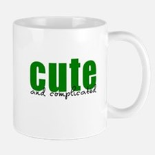Cute Complicated Green Mug