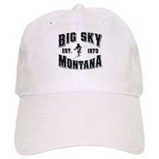 Big Sky Skier Baseball Cap