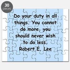 robert e lee quotes Puzzle