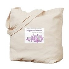 Migraine Warrior Tote Bag