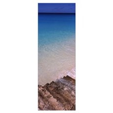 Steps on the beach, Anguilla Poster