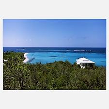 Tourist resort on the beach, Shoal Bay, Anguilla