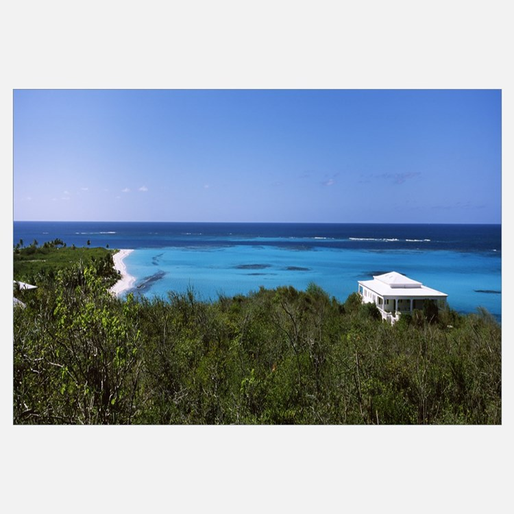 Tourist resort on the beach, Shoal Bay, Anguilla