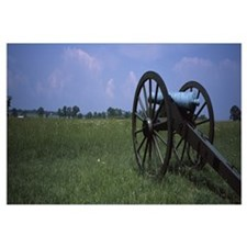 Cannon in a battlefield, Gettysburg National Milit