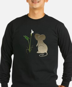 Cute Mouse and Calla lily T
