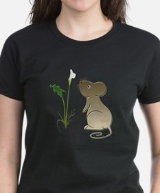 Cute Mouse and Calla lily Tee