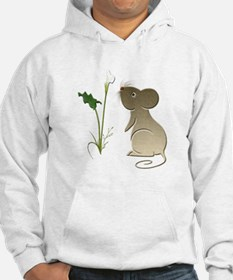 Cute Mouse and Calla lily Hoodie