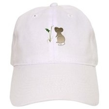 Cute Mouse and Calla lily Baseball Cap