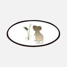 Cute Mouse and Calla lily Patches