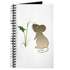 Cute Mouse and Calla lily Journal