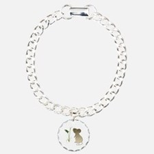 Cute Mouse and Calla lily Bracelet