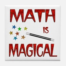 Math is Magical Tile Coaster