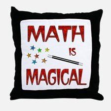 Math is Magical Throw Pillow