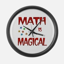 Math is Magical Large Wall Clock