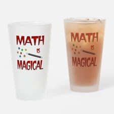Math is Magical Drinking Glass