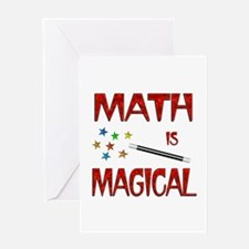 Math is Magical Greeting Card