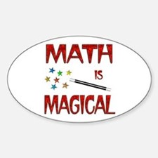 Math is Magical Sticker (Oval)