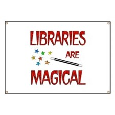Libraries are Magical Banner